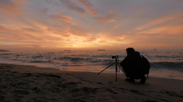 Active seniors. Photographer on the field. Solo Traveler, Adventurous Hobby
