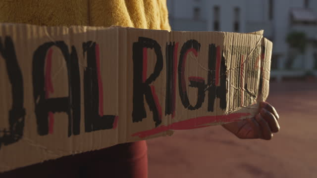 Activist for equal rights video