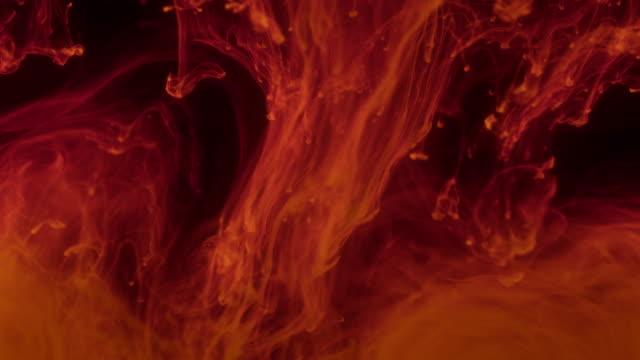 vidéos et rushes de ajout de produits chimiques/encres/réactifs à la solution. - chimie