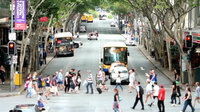 Adelaide Street in Brisbane video