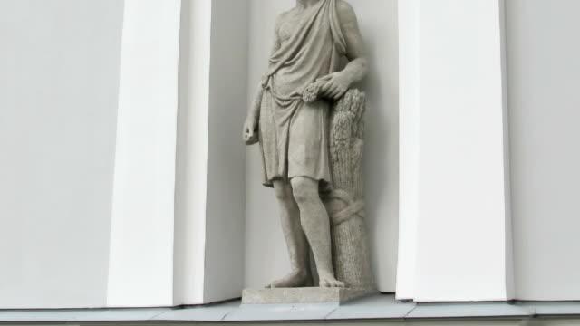 Adonis - ancient Greek god, St. Petersburg, Russia video