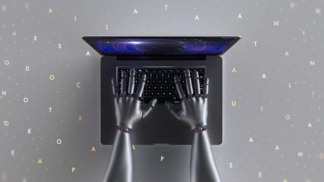 Dizüstü bilgisayar kullanarak gelişmiş robot eller video