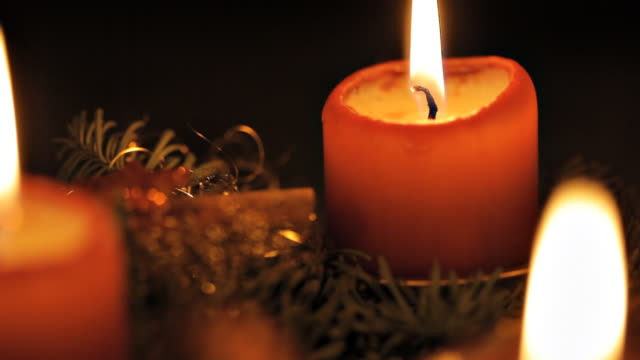 Advent Candles video