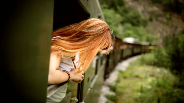 Adventure travel by train