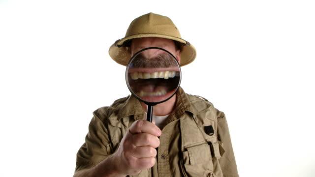 Adventurer get a fright video