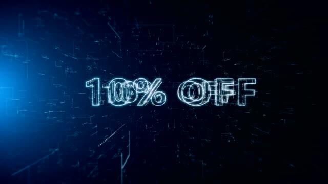 advertisement text banner 10 percent off - дискаунтер стоковые видео и кадры b-roll