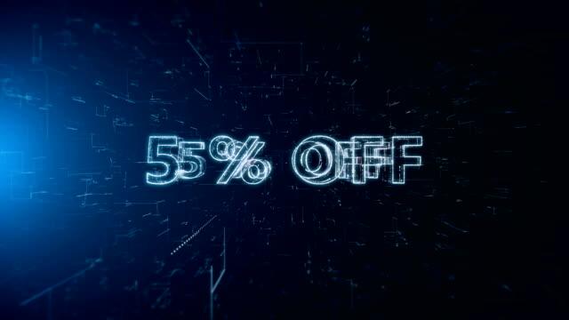 advertisement text banner 5 percent off - дискаунтер стоковые видео и кадры b-roll