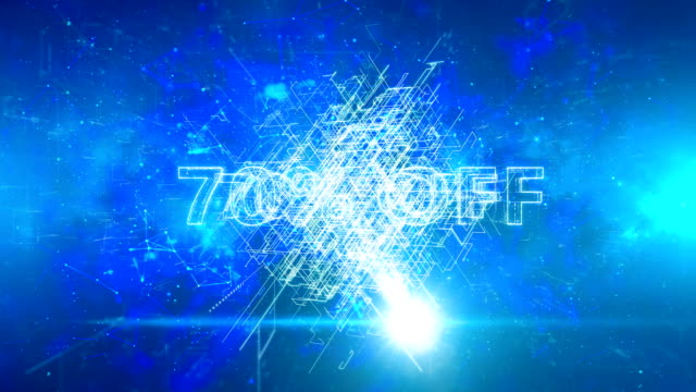 advertisement text, promotion 70% off - дискаунтер стоковые видео и кадры b-roll