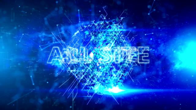 advertisement text, promotion, all site - дискаунтер стоковые видео и кадры b-roll