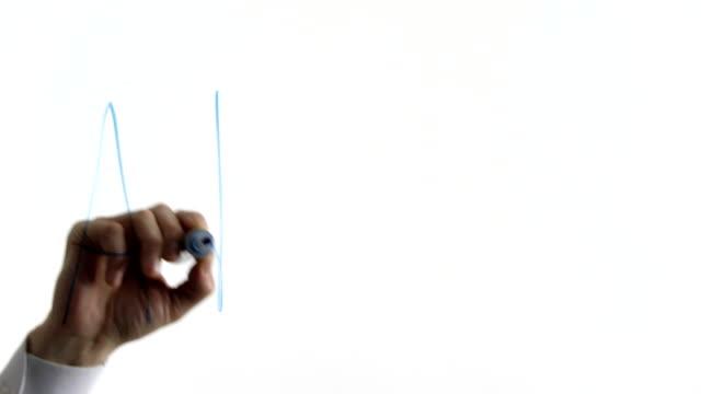 werbung-wort geschrieben am glas, öffentliche aufmerksamkeit, förderung vertrieb - reisebüro stock-videos und b-roll-filmmaterial