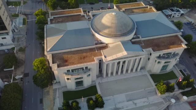 aerial alabama supreme court orbit - alabama filmów i materiałów b-roll