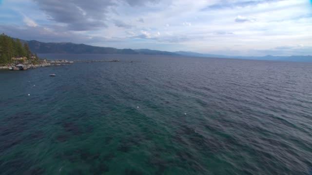 veduta aerea america lake tahoe 02 - brent video stock e b–roll