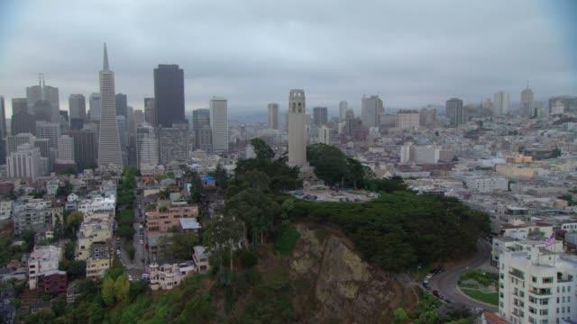 veduta aerea america san francisco - brent video stock e b–roll