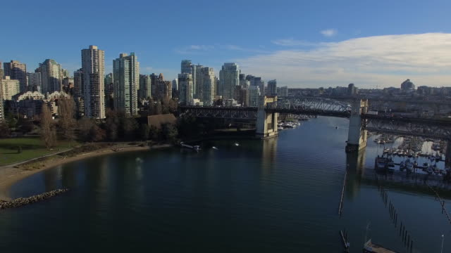 vídeos de stock e filmes b-roll de antena canadá em vancouver bc - vancouver