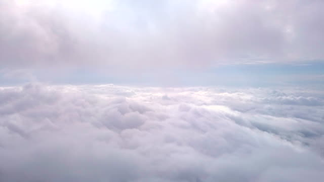 luftwolkenhimmel - stratosphäre stock-videos und b-roll-filmmaterial