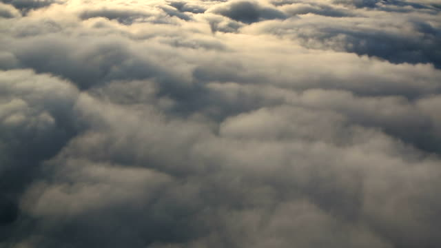 Aerial Clouds video