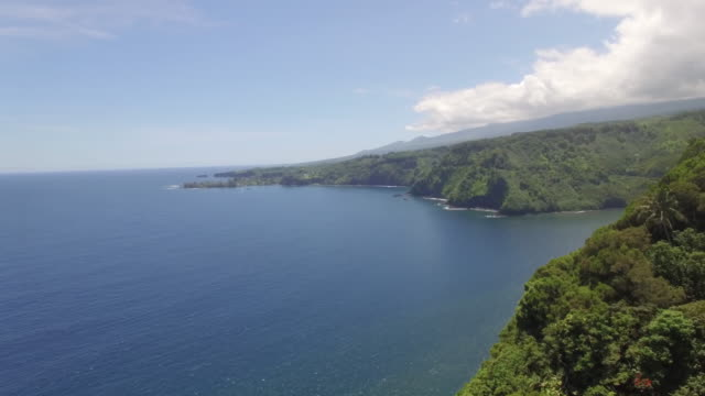 4K Aerial Drone Maui, Hawaii, Hana Coast and Road video