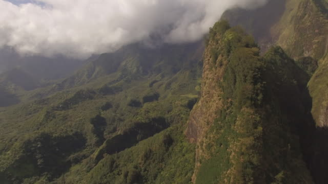 4K Aerial Drone Maui, Hawaii, Iao Valley video