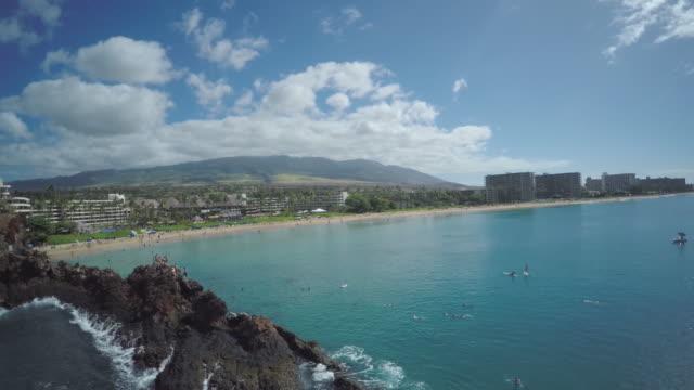 4K Aerial Drone Maui, Hawaii, Kaanapali Coast video