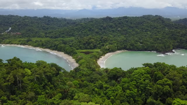 Aerial Drone of Manuel Antonio in Costa Rica