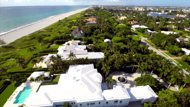 Aerial drone video West Palm Beach USA video