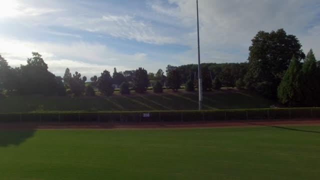 Aerial Empty Baseball Field video