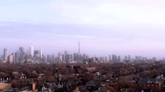 4K Aerial Establishing Shot of Toronto, Ontario. 4K Aerial Establishing Shot of Toronto, Ontario. (All logos and signs removed in post.) ontario canada stock videos & royalty-free footage