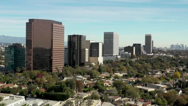 Aerial Footage of Beverly Hills, California - 4k Drone Video