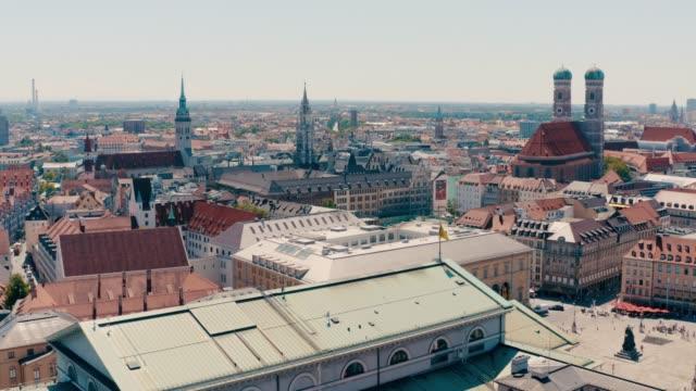 Luftaufnahmen der Münchner Innenstadt, Bayern, Deutschland – Video