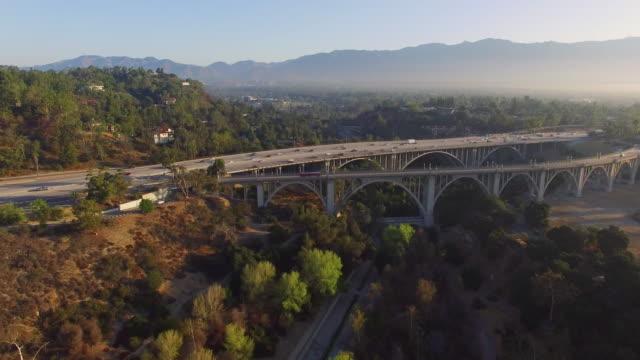Aerial Freeway Bridge