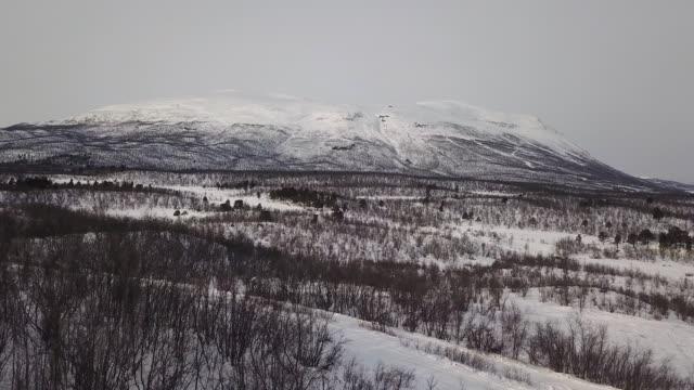 aerial porten till lappland - norrbotten bildbanksvideor och videomaterial från bakom kulisserna