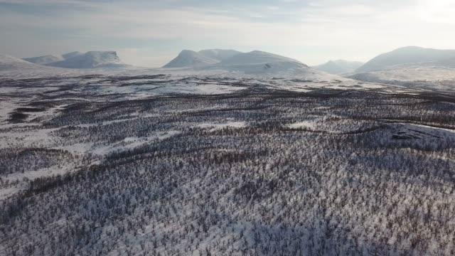 aerial porten till lappland - sweden bildbanksvideor och videomaterial från bakom kulisserna