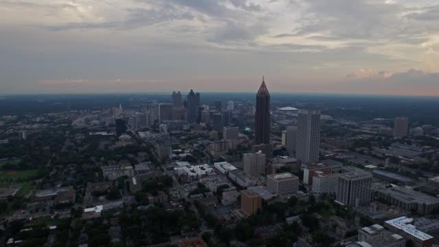 Veduta aerea di Atlanta Georgia - video