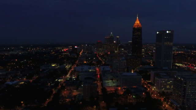 Aerial Georgia Atlanta video