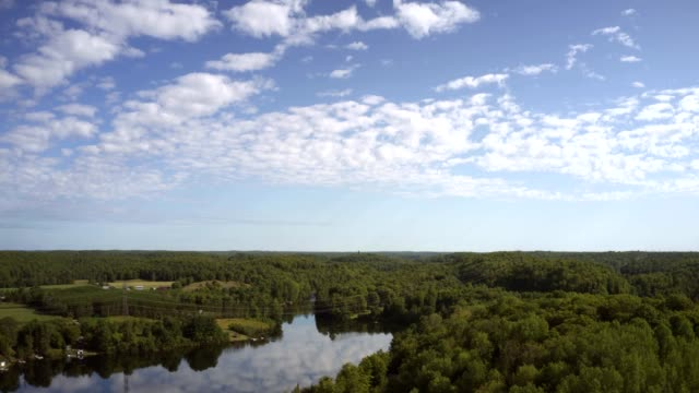 4K Aerial Hyperlapse of Ontario, Canada Cottage Country. 4K Aerial Hyperlapse of Ontario, Canada Cottage Country. Shot in RAW. ontario canada stock videos & royalty-free footage