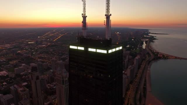 Aerial Illinois Chicago Aerial video of Chicago Illinois. chicago stock videos & royalty-free footage