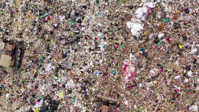 deponi för soptipp i luften - food waste bildbanksvideor och videomaterial från bakom kulisserna