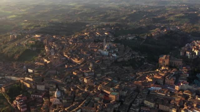 Luftaufnahme der Stadt Siena – Video