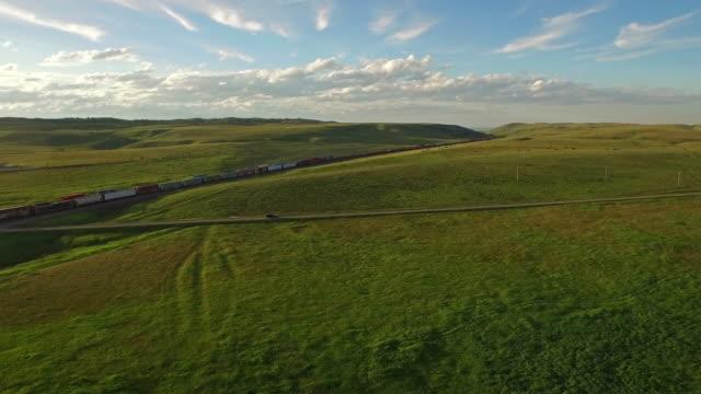 Aerial Montana Countryside video