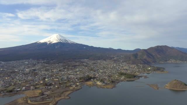 航空写真 :富士山、日本 - 富士山点の映像素材/bロール
