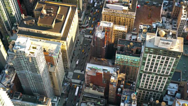Aerial New York Straße – Video