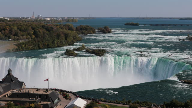 Aerial Niagara Falls UHD 4K Video