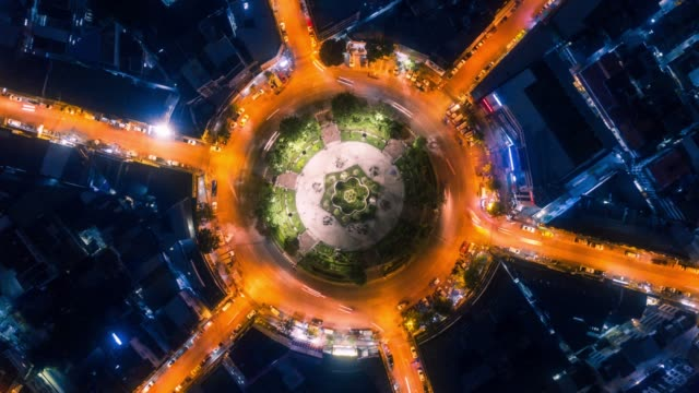 aerial night vertical timelapse - american architecture stock videos & royalty-free footage