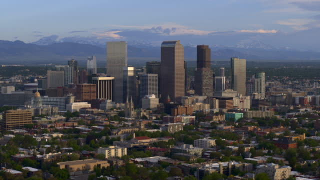 Aerial of Downtown Denver