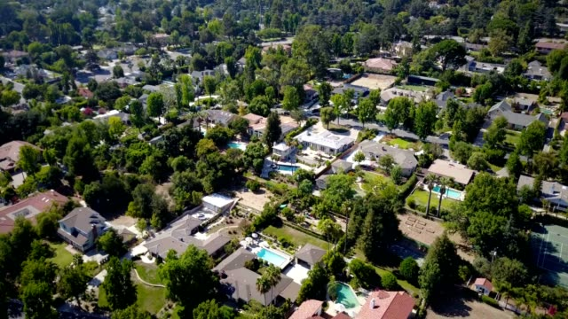 Aerial of Homes video