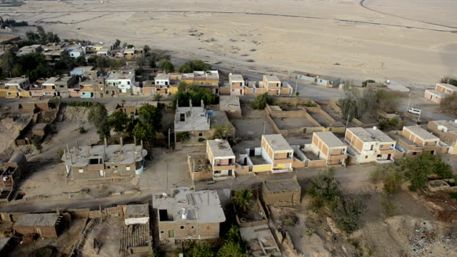 Aerial of Luxor Houses video