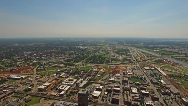 Aerial Oklahoma Oklahoma City video