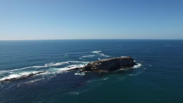 Aerial Oregon Newport Beach video