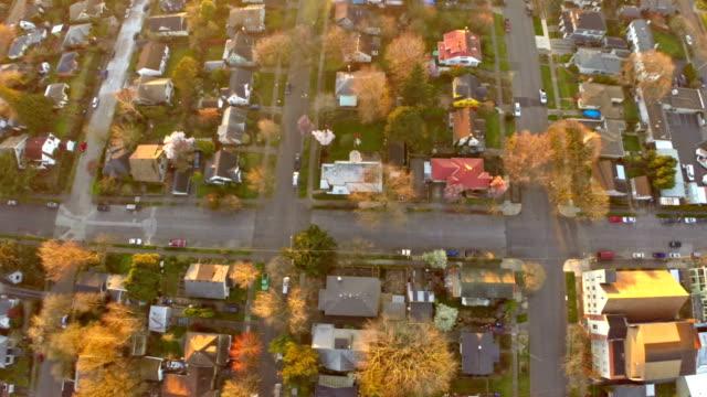 Aerial Oregon Portland video