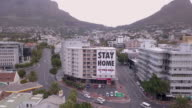 istock Aerial over City of Cape Town during Corona Virus lockdown, with empty streets 1218638894